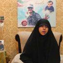 همسر شهید محمد اینانلو